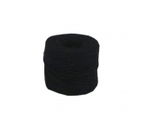Jute twine in black color, 45 meters