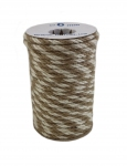 Jute rope natural-white, color 2/2, diameter 6mm, 25 meters