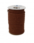 Jute rope, brown color, diameter 6mm, 25 meters
