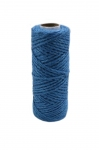 Jute cord light blue, 50 meters