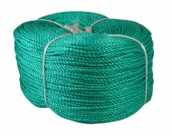 Polypropylene cord green, diameter 4mm, 400 meters
